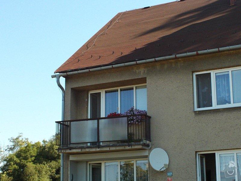 Zastřešení a zasklení terasy /balkonu/: FILE0038
