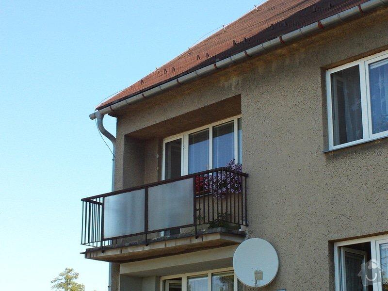 Zastřešení a zasklení terasy /balkonu/: FILE0041