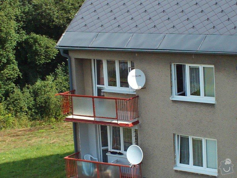 Zastřešení a zasklení terasy /balkonu/: FILE0045