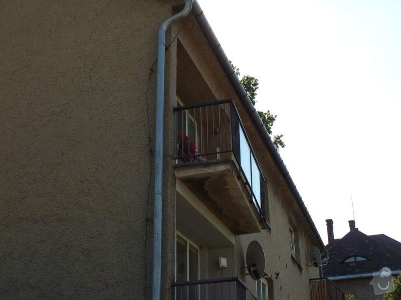 Zastřešení a zasklení terasy /balkonu/: FILE0035