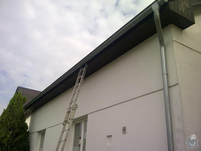 Oprava stávajícího okapu a dodávka nového: Praha-20130828-00103