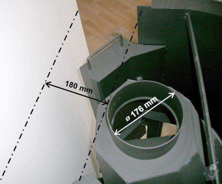 Připojení krbové vložky na komín: 01