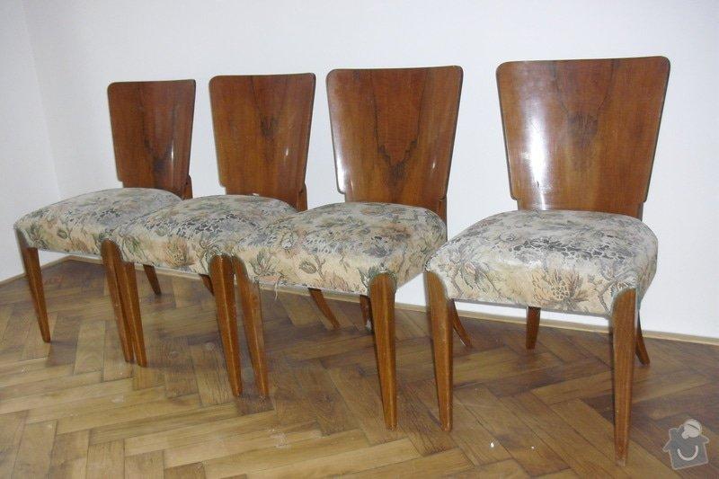 Čalounění 4 židlí: CIMG1838