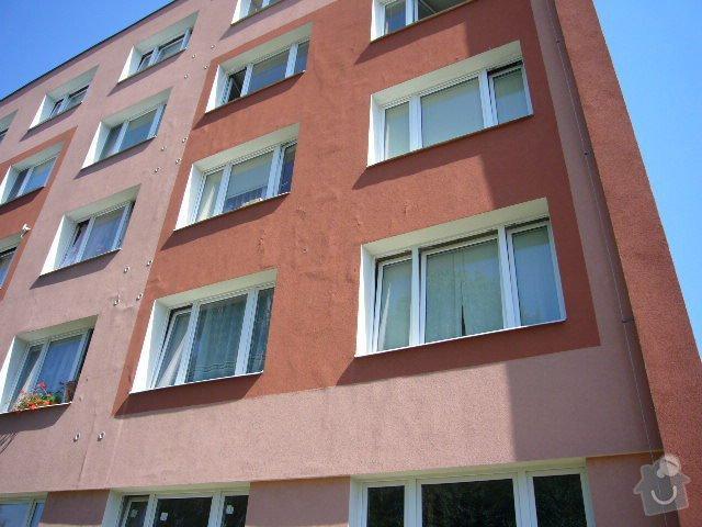 Výměna parapetů, oprava fasády: P1110058