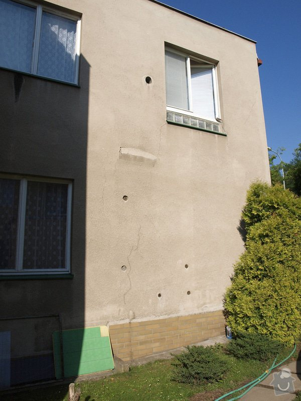 Oprava břízolitové fasády: _8290372