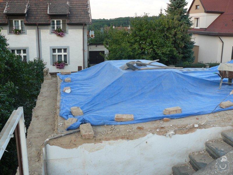 Rekonstrukce střechy: Bourani2