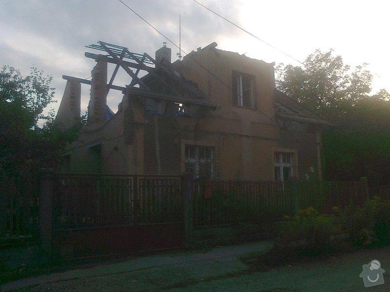 Rekonstrukce střechy: Bourani1