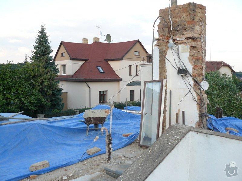 Rekonstrukce střechy: Bourani_5