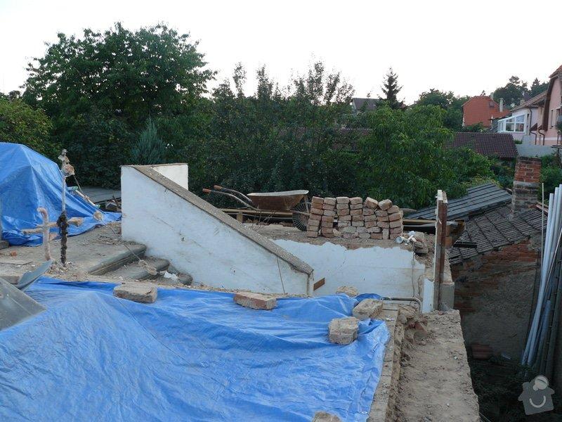 Rekonstrukce střechy: Bourani_4