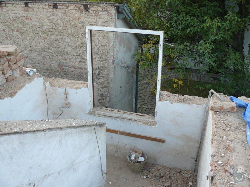 Rekonstrukce střechy: Bourani_3