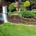 Zbourani stavajici zidky zdena drevena palisada vyhotoveni no p1030406