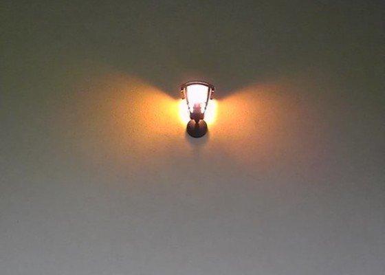 Instalace 3ks venkovních světel