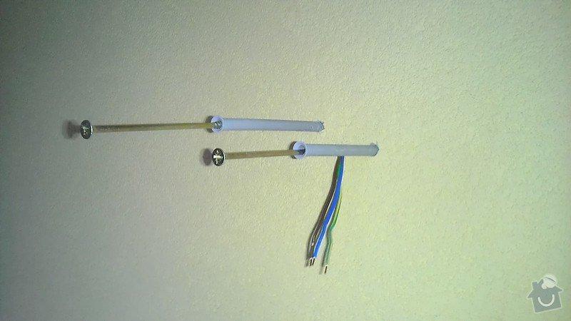 Instalace 3ks venkovních světel: IMAG2707