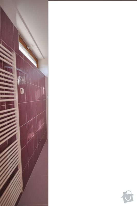Vymena obkladu v koupelne, Praha 5: koupelna2