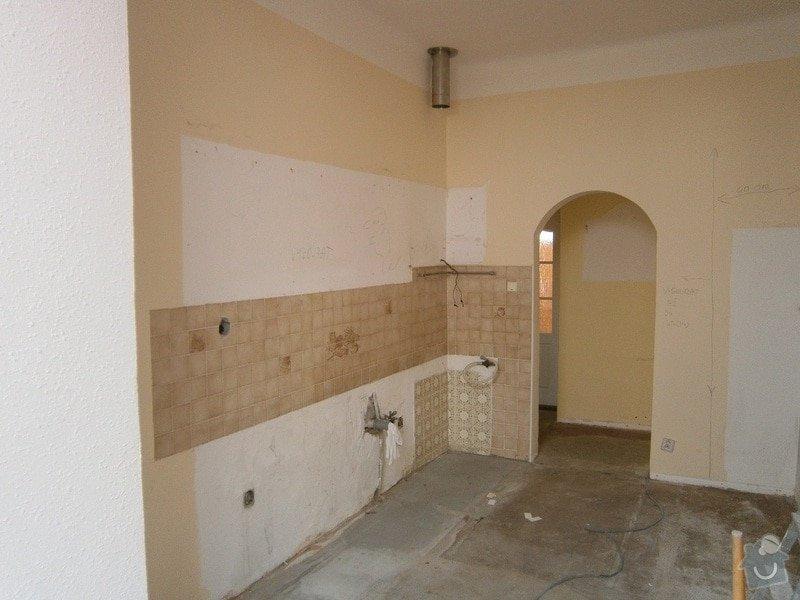 Částečná rekonstrukce rodinného domu: 1