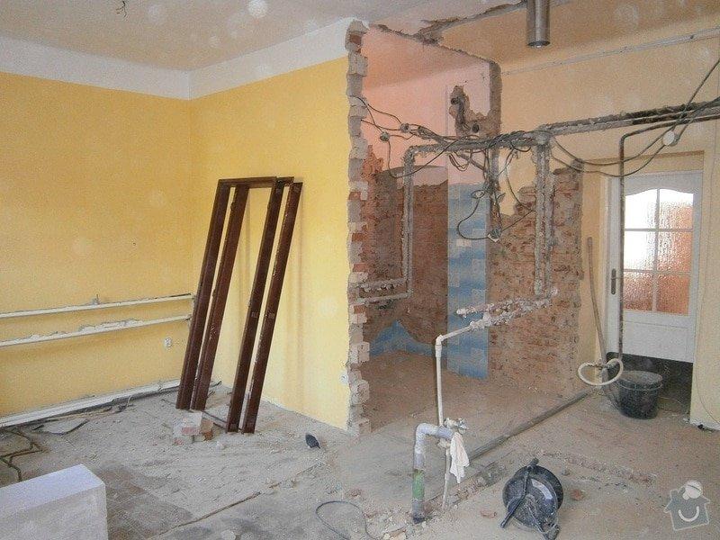 Částečná rekonstrukce rodinného domu: 2