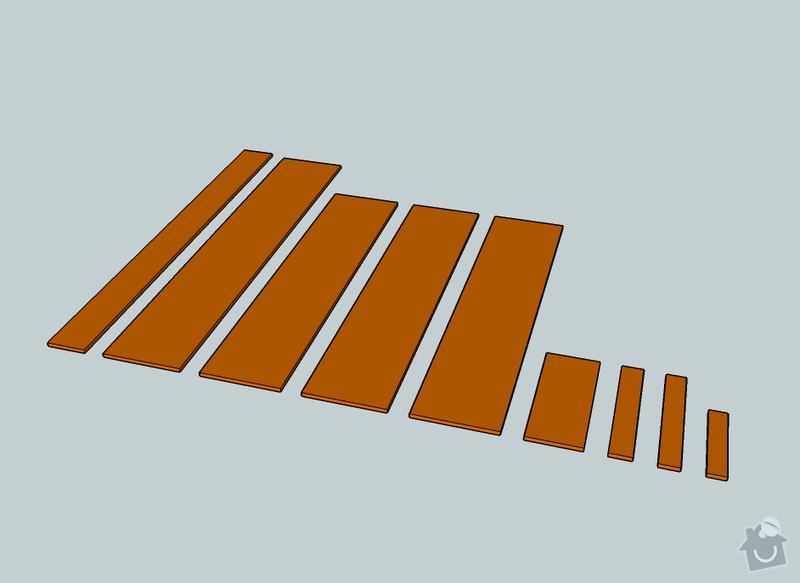 Výroba dřevěných desek - komponent nábytku: komponenty4.2