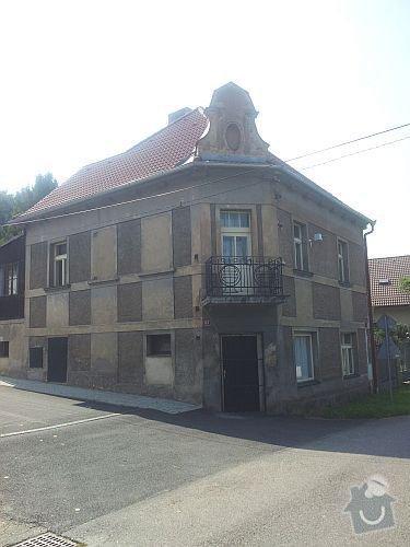 Fasáda patrového rodinného domu: 20130831_114824