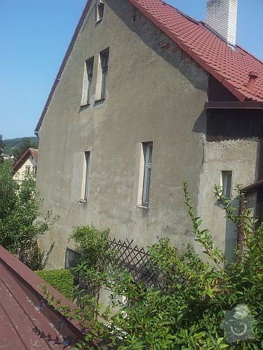 Fasáda patrového rodinného domu: 20130831_115200