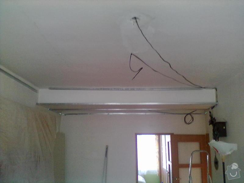 Rekonstrukce Koupelny,Wc ,a snížení stropu v pokoji: 3