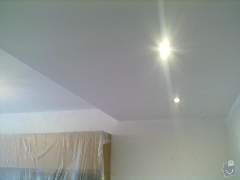 Rekonstrukce Koupelny,Wc ,a snížení stropu v pokoji: 290820131777