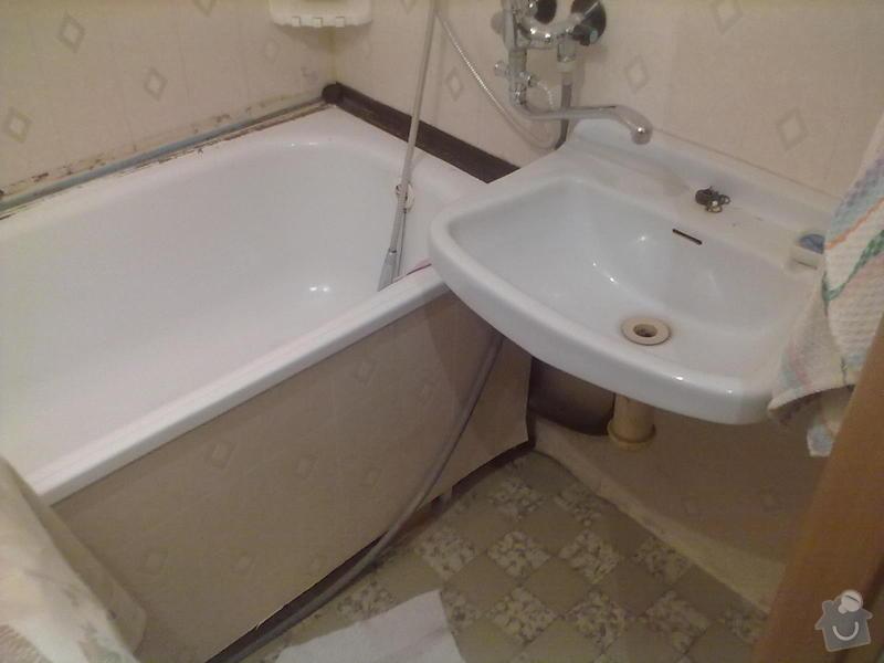 Rekonstrukce Koupelny,Wc ,a snížení stropu v pokoji: 180820131674