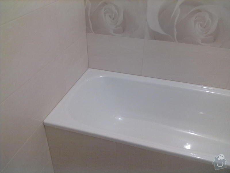 Rekonstrukce Koupelny,Wc ,a snížení stropu v pokoji: 300820131781