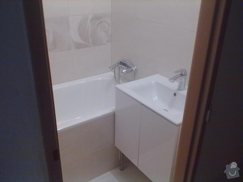 Rekonstrukce Koupelny,Wc ,a snížení stropu v pokoji: 300820131788