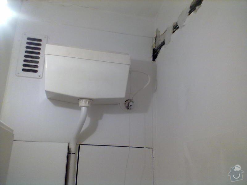 Rekonstrukce Koupelny,Wc ,a snížení stropu v pokoji: 180820131680
