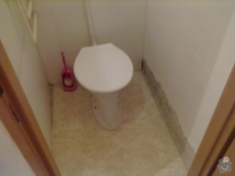 Rekonstrukce Koupelny,Wc ,a snížení stropu v pokoji: 180820131679