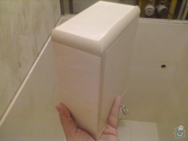 Rekonstrukce Koupelny,Wc ,a snížení stropu v pokoji: 280820131770