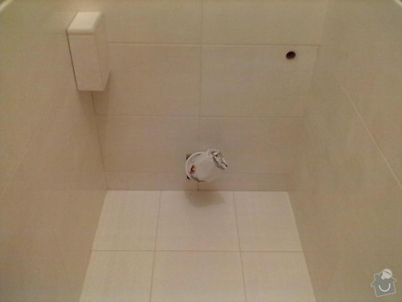 Rekonstrukce Koupelny,Wc ,a snížení stropu v pokoji: 280820131772