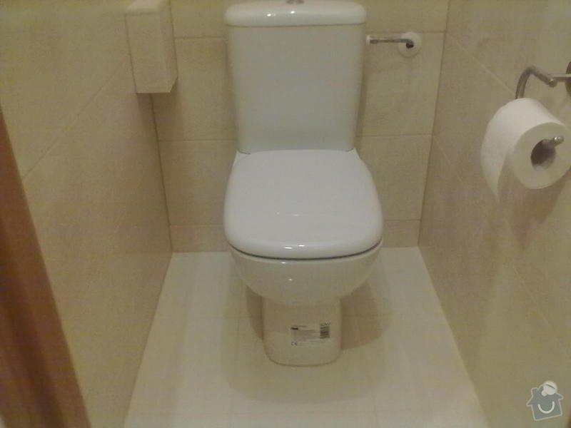 Rekonstrukce Koupelny,Wc ,a snížení stropu v pokoji: 300820131790