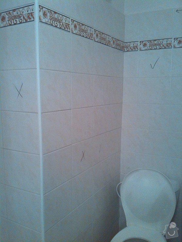 Obklady v koupelně, instalace el. odsavače par v koupelně: IMG_20130823_200842