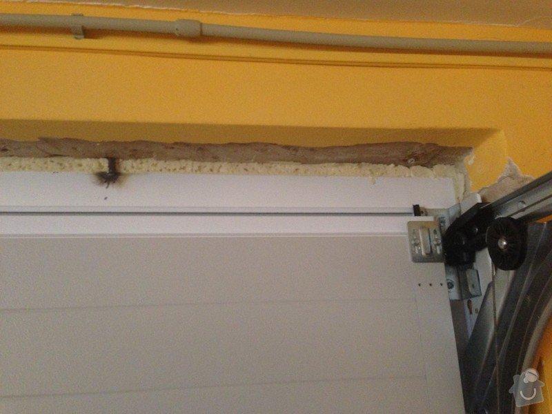 Stavební oprava vjezdu do garáže : photo_6_tepelny_most-vrchni_strana_vrat