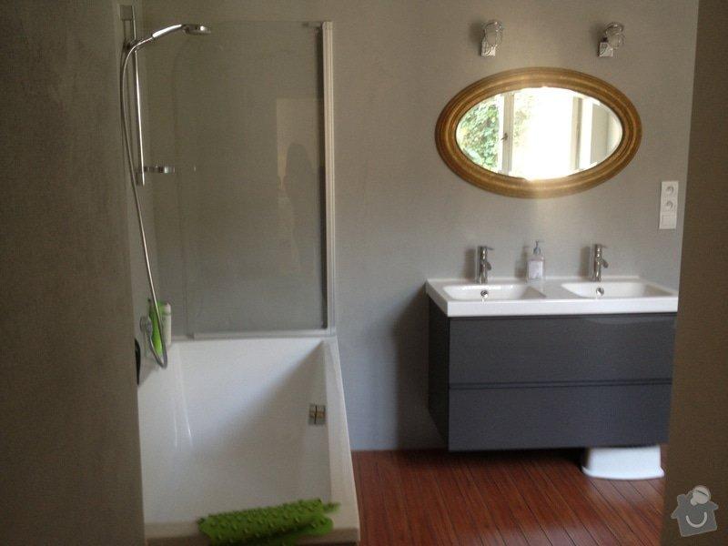 Rekonstrukce koupelny s betonovou sterkou na stenach: 498