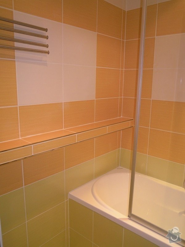 Kompletní rekonstrukce koupelny a toalety: 184-02