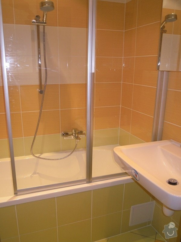 Kompletní rekonstrukce koupelny a toalety: 184-04