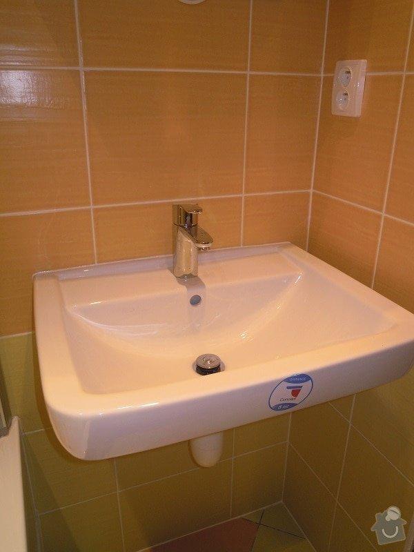 Kompletní rekonstrukce koupelny a toalety: 184-05