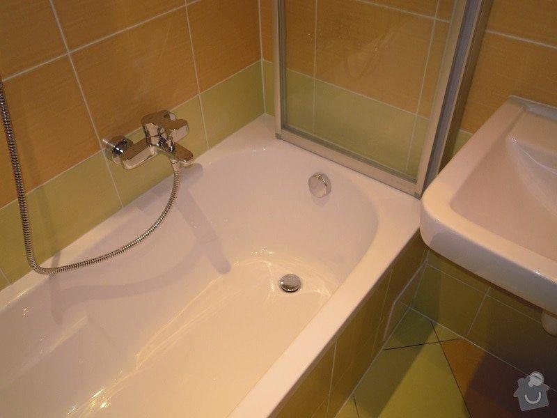 Kompletní rekonstrukce koupelny a toalety: 184-06