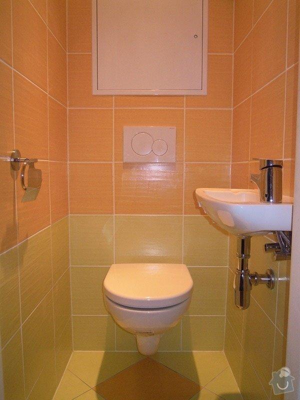 Kompletní rekonstrukce koupelny a toalety: 184-09