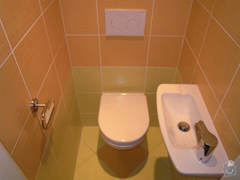 Kompletní rekonstrukce koupelny a toalety: 184-10