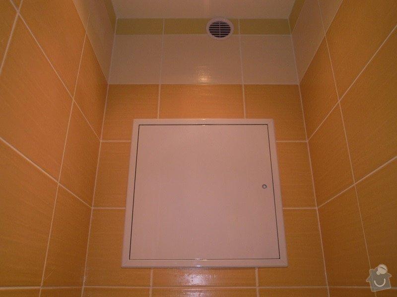 Kompletní rekonstrukce koupelny a toalety: 184-11