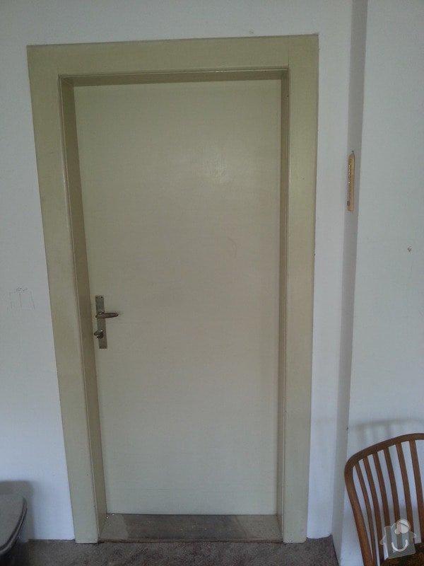 Renovace dřevěných dveří včetně zárubní (2 kusy): 20130831_124322