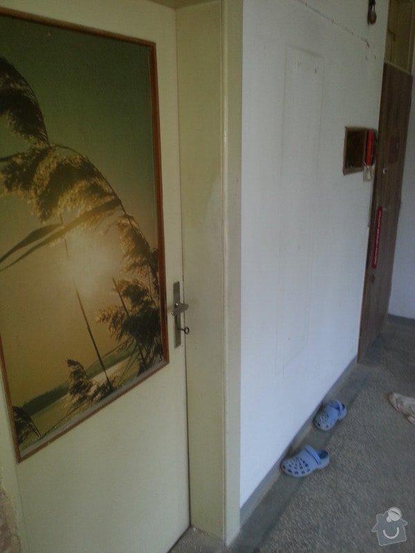 Renovace dřevěných dveří včetně zárubní (2 kusy): 20130831_124336