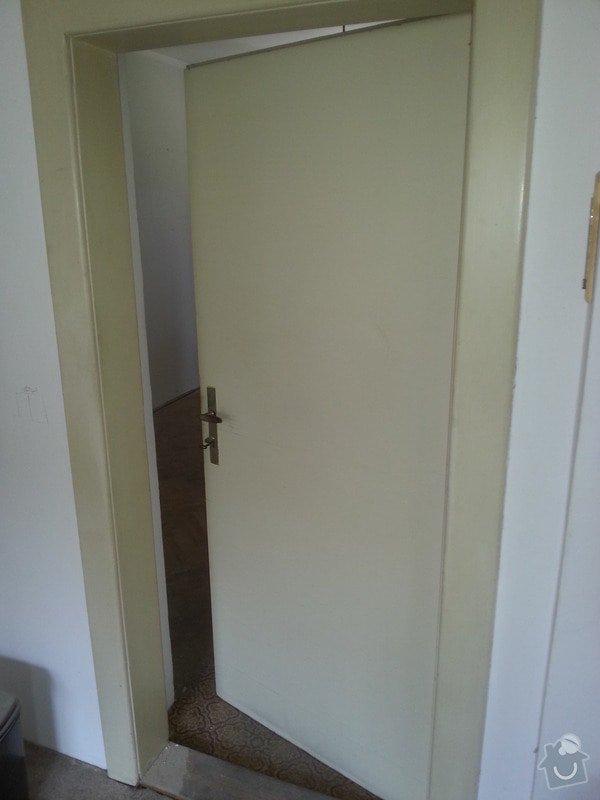 Renovace dřevěných dveří včetně zárubní (2 kusy): 20130831_124422