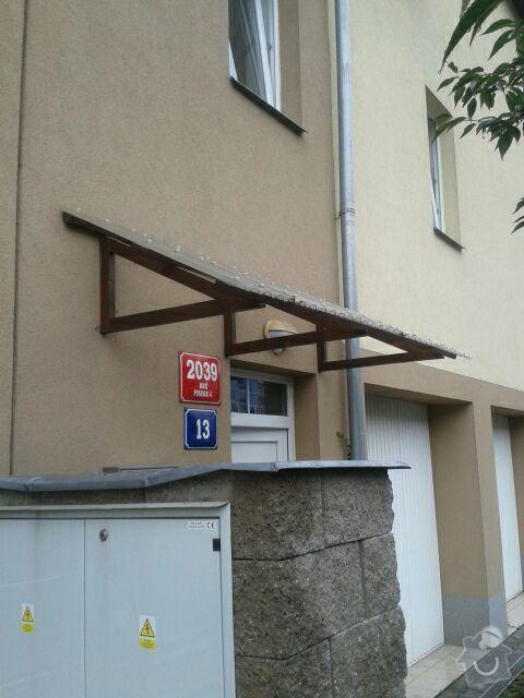 Výroba stříšky nad vchod do domu: Striska_1