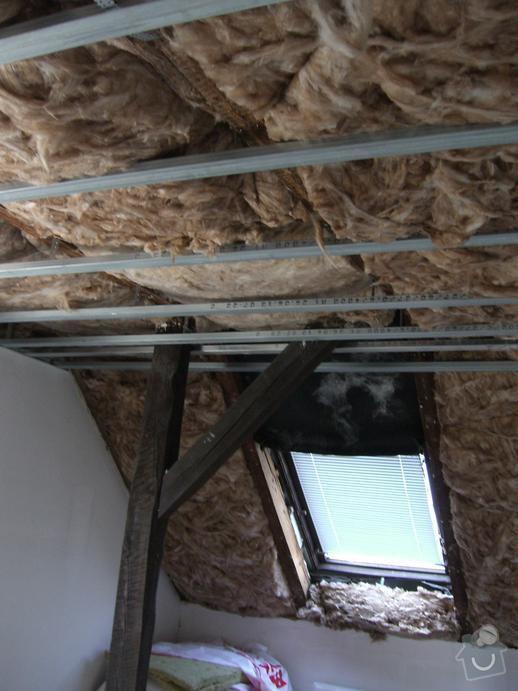 Rekonstrukce sadrokartonových podhledů: CIMG2887