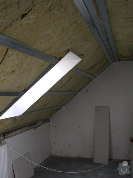 Rekonstrukce sadrokartonových podhledů: CIMG2890