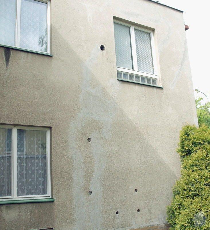 Oprava břízolitové fasády: fasada_po